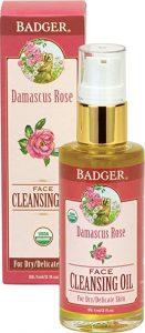 Badger Damascus Rose Face Cleansing Oil