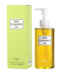 DHC Deep Best Cleansing Oil for Glowing Skin