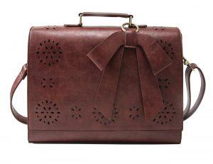 ECOSUSI Ladies PU Laptop Bag
