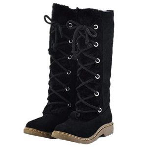 HAPPYLIVE SHOPPING Knee-high Snow Boots
