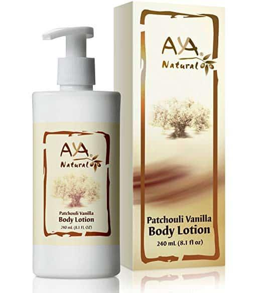 Aya Natural Patchouli Vanilla Body Lotion