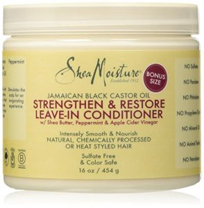 Shea Moisture leave in conditioner for beautiful hair