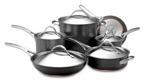 Anolon Nouvelle Copper Hard-Anodized Nonstick Cookware