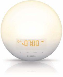 Philips Wake-Up Light Alarm Clock with Sunrise Simulation and Sunset Fading Night Light