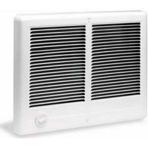 Cadet Com-Pak Twin 4000W, 240V Most Popular Large Room Electric Wall Heater with Thermostat