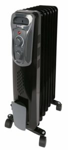 Hurricane Radiant Heater - Digital Display with Remote Control