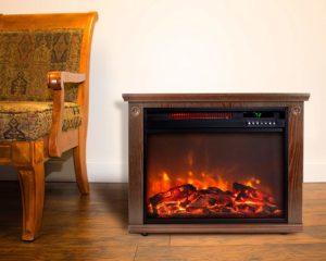 Lifesmart Large Room Infrared Quartz Fireplace