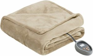 Beautyrest Heated Microlight to Berber Elect Electric Blanket