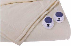 Luxury Micro-Fleece Low-Voltage Electric Heated Blanket