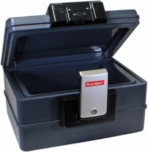 First Alert 2602DF Waterproof fireproof Safe