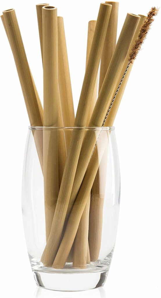 NATURALNEO Organic Bamboo Straw Reusable