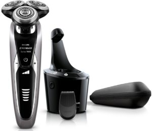 Philips Norelco Shaver 9300 with Smart Clean electric razor