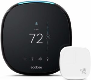 Ecobee4 Smart Home Thermostat with Built-in-Alexa