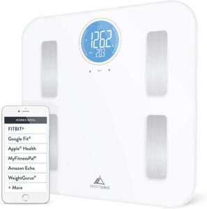 Weight Gurus Wi-Fi Smart Connected Body Fat Scale