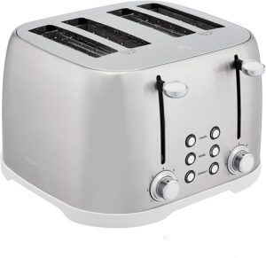 Amazon Basics 4 slice toaster