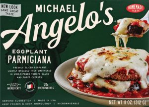 Michael Angelos Eggplant Parmesan