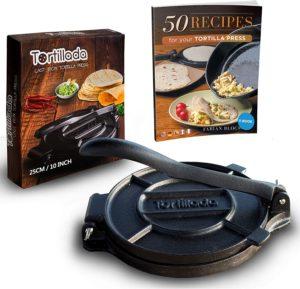 Tortillada – Premium Cast Iron Tortilla Press