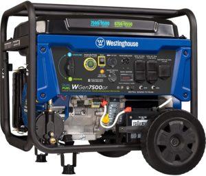 Westinghouse WGen7500DF Dual Fuel Portable Generator