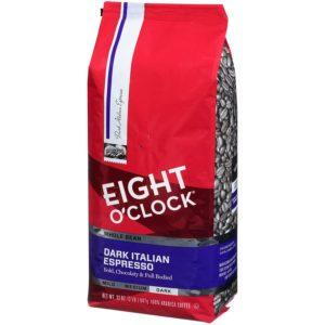 Eight O' clock coffee